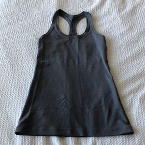 Lululemon light blue-ish gray tank!
